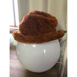 スナオクワハラ(sunaokuwahara)のsunao kuwahara ビジュー付きもこもこハット スナオクワハラ 帽子(ハット)