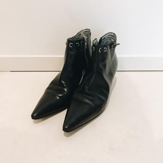 シガーソンモリソン(SIGERSON MORRISON)のSigerson Morrison シガーソン ショートブーツ 美品(ブーツ)