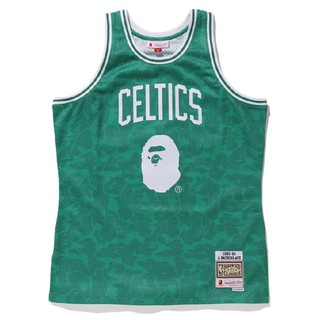 A BATHING APE - CELTICS ABC BASKETBALL JERSEY TANKTOP