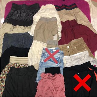 セポ(CEPO)のスカート まとめ売り 15点セット(ミニスカート)