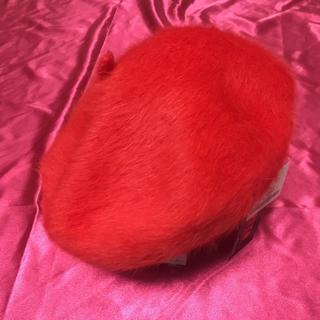 スウィートビー(SWEET.B)のレッド☆ベレー帽(ハンチング/ベレー帽)