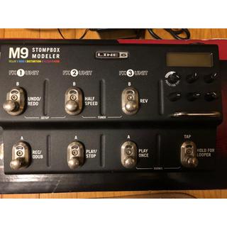 ボス(BOSS)のLINE6 M9 stompbox modeler 斎藤宏介使用エフェクター(エフェクター)