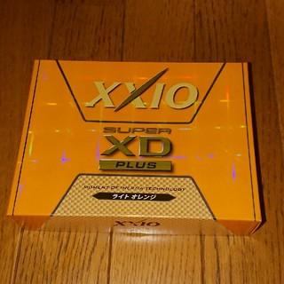 ダンロップ(DUNLOP)の新品 XXIO SUPER XD PLUS ゴルフボール1ダース ライトオレンジ(その他)