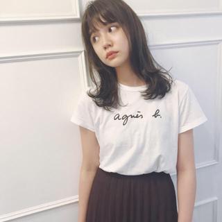 agnes b. - 最終価格です♡ agnes b. ロゴTシャツ