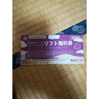 岩手 夏油高原スキー場 リフト券(ウィンタースポーツ)