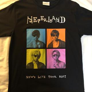 ニュース(NEWS)のNEWS Tシャツ Neverland(アイドルグッズ)