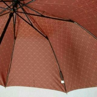 セリーヌ(celine)のCELINE 総柄 折りたたみ傘  オレンジ 未使用 (傘)