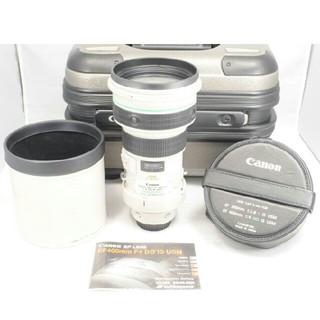 キヤノン(Canon)のCanon キヤノン EF 400mm F4 DO IS USM 超望遠ケース付(レンズ(ズーム))