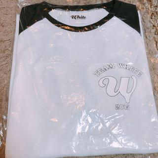 ニュース(NEWS)のNEWS WHITE Tシャツ(アイドルグッズ)