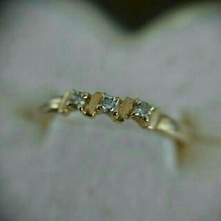 ジュエリーツツミ(JEWELRY TSUTSUMI)の値下げ】TSUTSUMI K18 10.5 ダイヤモンドリング (リング(指輪))