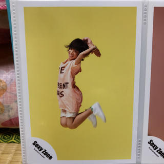 セクシー ゾーン(Sexy Zone)の松島聡 公式写真4枚セット(アイドルグッズ)