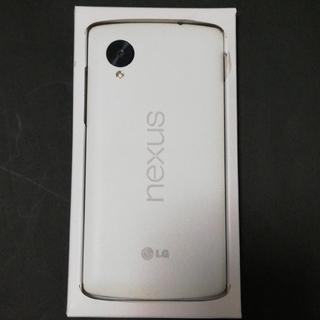 エルジーエレクトロニクス(LG Electronics)の美品 Nexus 5 32GB(スマートフォン本体)