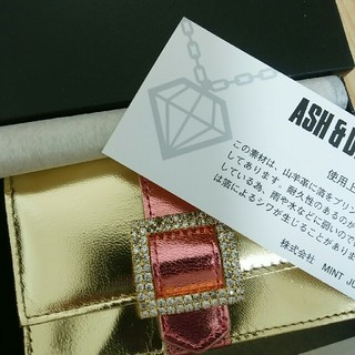 アッシュアンドダイアモンド(ASH&DIAMONDS)の【yukky様専用】コインケース カードケース(コインケース)