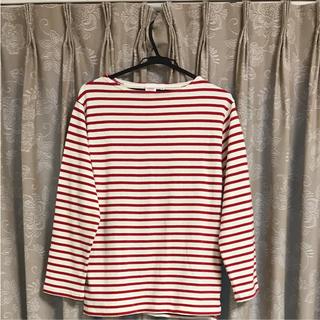 ドゥニーム(DENIME)のdenime ドゥニーム ボーダー ロンT カットソー 美品(Tシャツ(長袖/七分))