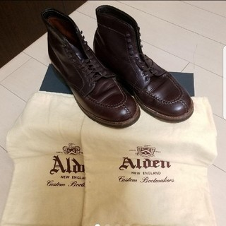 オールデン(Alden)のオールデン タンカーブーツ 45407H(ブーツ)
