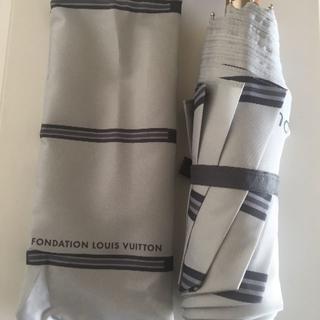 ルイヴィトン(LOUIS VUITTON)のルイ・ヴィトン財団美術館折り畳み傘ワンタッチ式(傘)