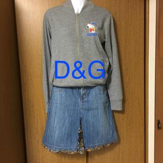 ディーアンドジー(D&G)のD&Gデニムスカート(ミニスカート)