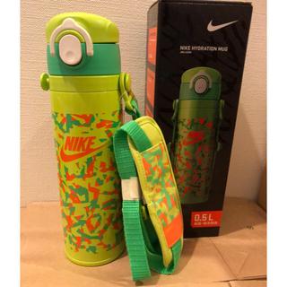 ナイキ(NIKE)のナイキ サーモス 新品未使用 ステンレス水筒 保冷 保温 肩紐付き 子供用水筒(水筒)