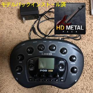 ボス(BOSS)のPOD HD Desktop HD METAL PACK インストール済(エフェクター)