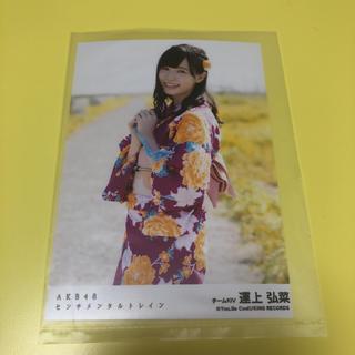 エイチケーティーフォーティーエイト(HKT48)の運上弘菜 生写真(アイドルグッズ)