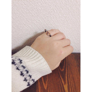 めがねリング(リング(指輪))