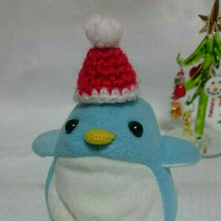 クリスマス 小動物 ハムスター 帽子(おもちゃ/ペット小物)