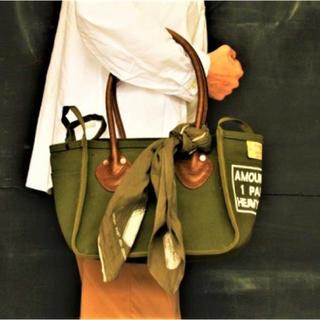 キャピタル(KAPITAL)のkapital kountry 4号アーミー帆布 MILK BAG(トートバッグ)