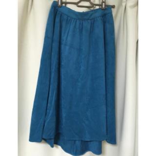 インデックス(INDEX)の【新品】INDEX ベロア風 スカート(ひざ丈スカート)