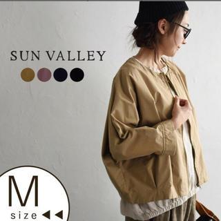 サンバレー(SUNVALLEY)のSUN VALLEY サンバレー ノーカラージャケット 美品✨(ノーカラージャケット)