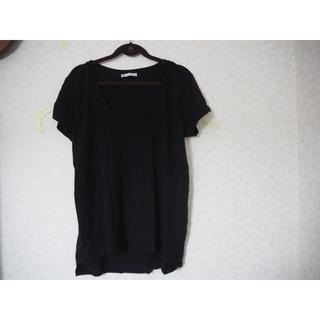 ザラ(ZARA)の★ZARA ★Tシャツ 黒 S(Tシャツ(半袖/袖なし))