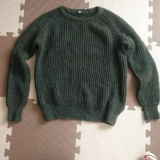 MUJI (無印良品) - 無印良品クールネックニットセーター