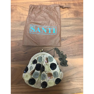 サンティ(SANTI)のSANTI  ジュエルバック BABYサイズ(クラッチバッグ)