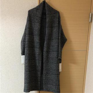 バビロン(BABYLONE)の♡キラキラ様専用♡バビロン グレンチェック羽織りコート(ロングコート)