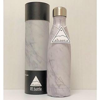 大理石 ステンレスボトル 真空二重構造 シャスタ 水筒 保温保冷 出産祝い(水筒)