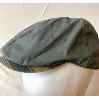 ディーゼル(DIESEL)のDIESEL キャスケット ハンチング メンズ(ハンチング/ベレー帽)