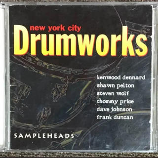【NYC Drum Works】2枚組サンプリングCD(その他)