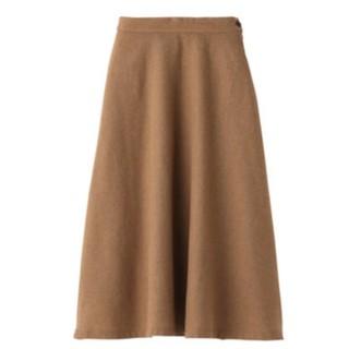 MUJI (無印良品) - 無印良品 イージーフレアースカート