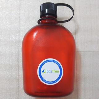 ナルゲン(Nalgene)のNALGENE ナルゲン カンティーンボトル 赤 新品(その他)
