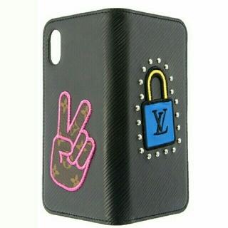 ルイヴィトン(LOUIS VUITTON)のルイヴィトン iPhoneX XS M63724 エピ スマホカバー 新品(iPhoneケース)