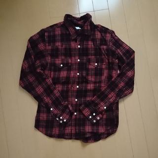 ディーエムジー(D.M.G)のドミンゴウエスタンネルシャツ サイズ2(シャツ/ブラウス(長袖/七分))