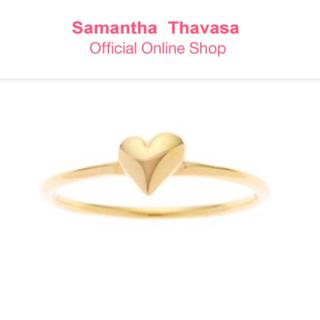 サマンサシルヴァ(Samantha Silva)のサマンサシルヴァ ハートピンキーリング(リング(指輪))