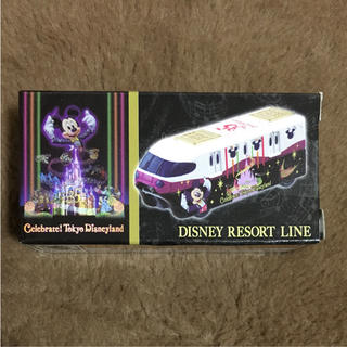 Disney - TDL☆ディズニー トミカ☆リゾートライン☆セレブレイト東京ディズニーランド