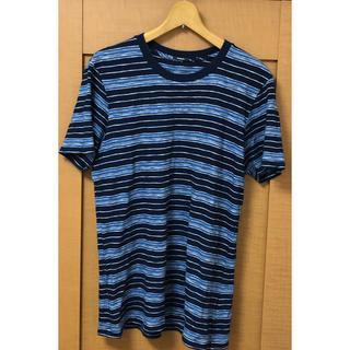 デンハム(DENHAM)の美品!DENHAM ボーダーTシャツ(Tシャツ/カットソー(半袖/袖なし))