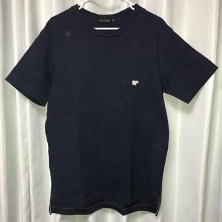 サイ(Scye)のscye basics Tシャツ 半袖 カットソー ネイビー 紺色 日本製(シャツ)
