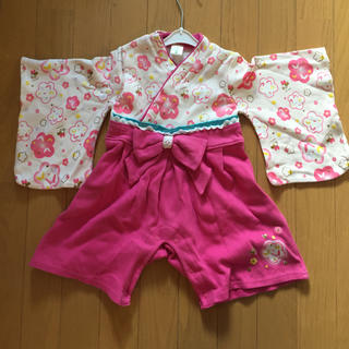 ディズニー(Disney)のディズニー 袴ロンパース 80(和服/着物)