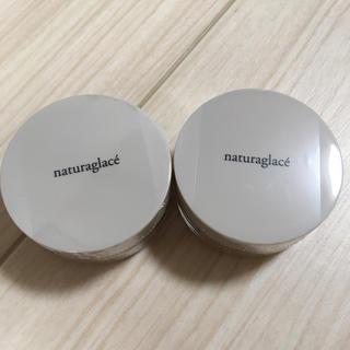 ナチュラグラッセ(naturaglace)のナチュラグラッセ ミニ2個セット 01 フェイスパウダー(フェイスパウダー)