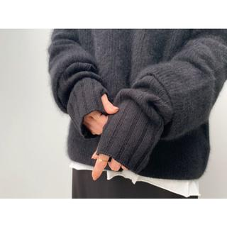 L'Appartement DEUXIEME CLASSE - 新品◆送料込◆AP STUDIO◆アームウォーマー ブラック