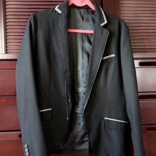 【メンズ美品】pazzo denim store パイピングジャケット(スーツジャケット)