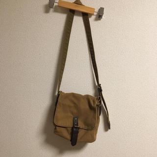 MUJI (無印良品) - 良品計画 無印良品 キャンパス生地 ショルダーバッグ