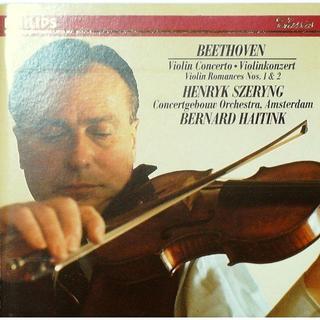 西ドイツ初期盤 シェリング ベートーヴェン バイオリン協奏曲 他(クラシック)